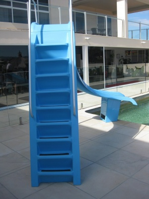 fibreglass4leisure non-slip steps water jet
